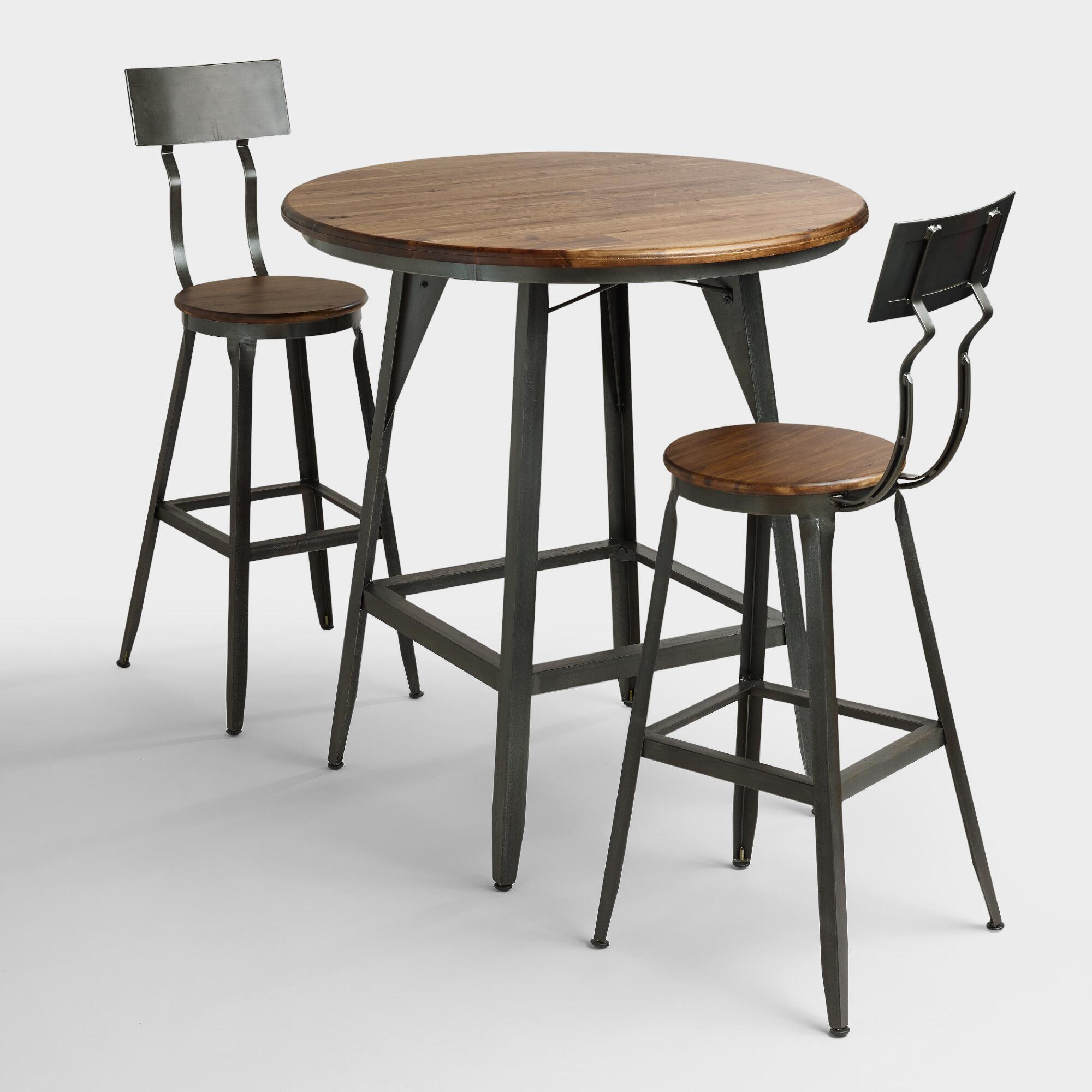 Industrial Style Round Dining Table Industrial Furniture Rustic Industrial Chic Furniture World
