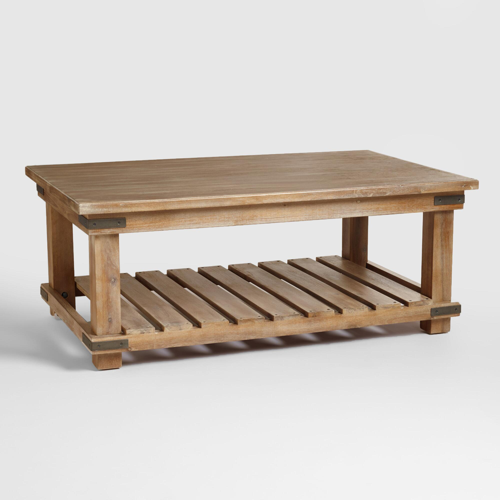 Iron Gate Coffee Table Coffee Tables Affordable End Tables World Market