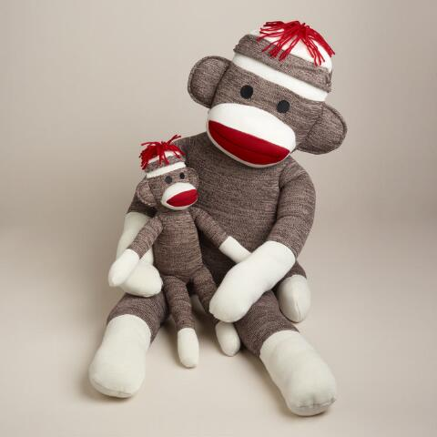 Classic Sock Monkey World Market