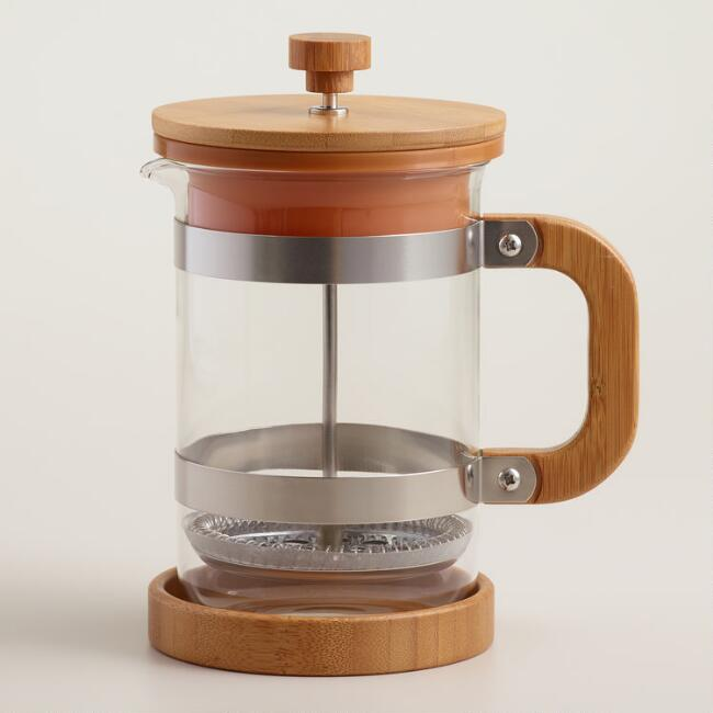 How do you use a French press coffee maker?