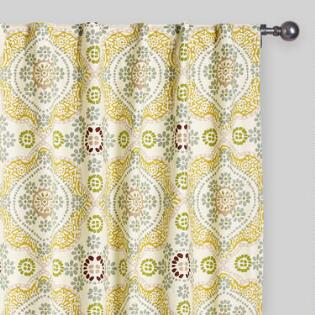 Curtains Ideas bright patterned curtains : Curtains, Drapes & Window Treatments | World Market