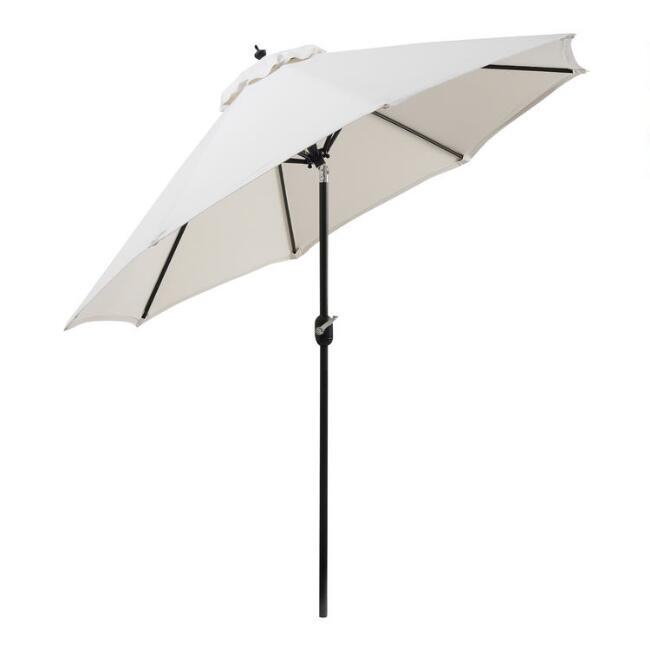 black 9 tilting umbrella frame world market