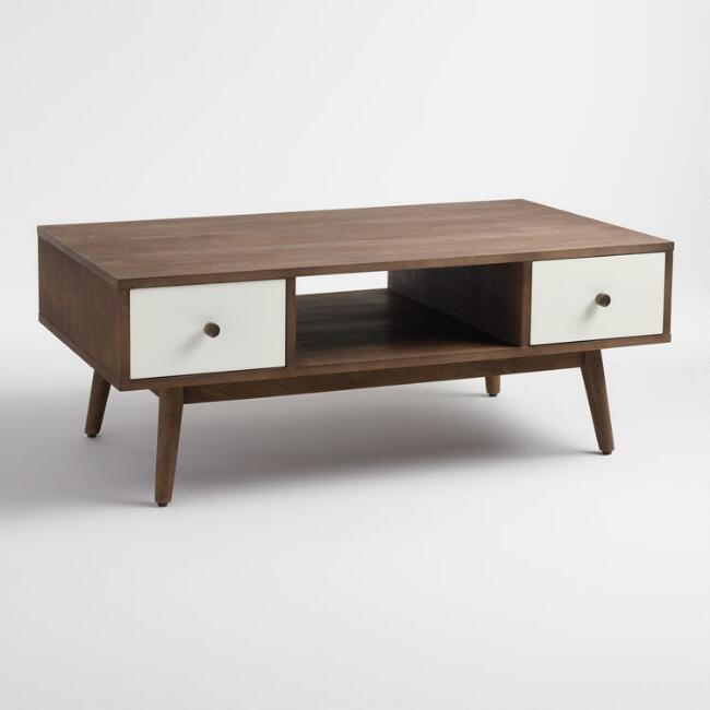 Wood And Metal Aiden Coffee Table: Wood And Metal Aiden Bed
