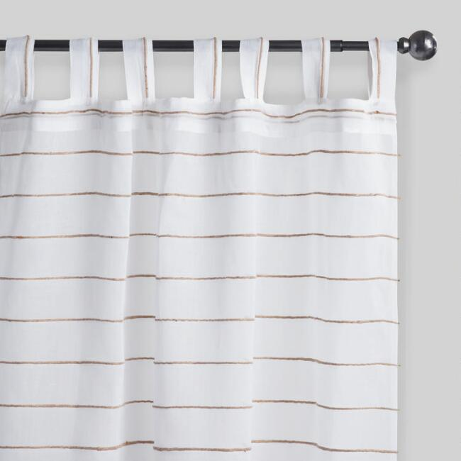 White Curtains black and white curtains for sale : Curtains, Drapes & Window Treatments | World Market