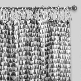 Curtains Ideas black and white patterned curtains : Striped Curtains & Colorful Patterned Drapes | World Market
