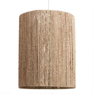 Lamp Shade Large: Tall Woven Jute Drum Floor Lamp Shade,Lighting