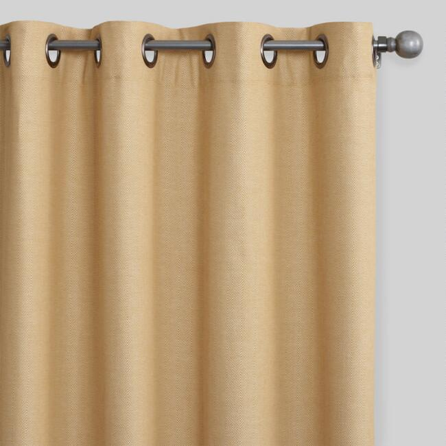 Curtains Ideas beige and brown curtains : Curtains, Drapes & Window Treatments | World Market