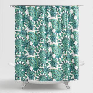 Curtains Ideas blue paisley shower curtain : Shower Curtains & Shower Curtain Rings | World Market