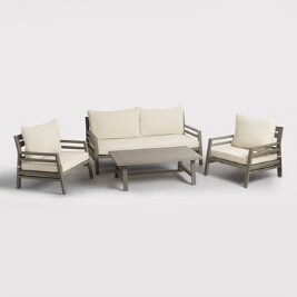 Affordable Outdoor Furniture Patio Chairs Wood Tables