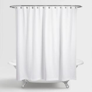 Shower Curtains cotton shower curtains : Cotton Shower Curtain | World Market